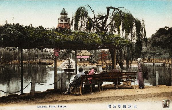 浅草公園 大池