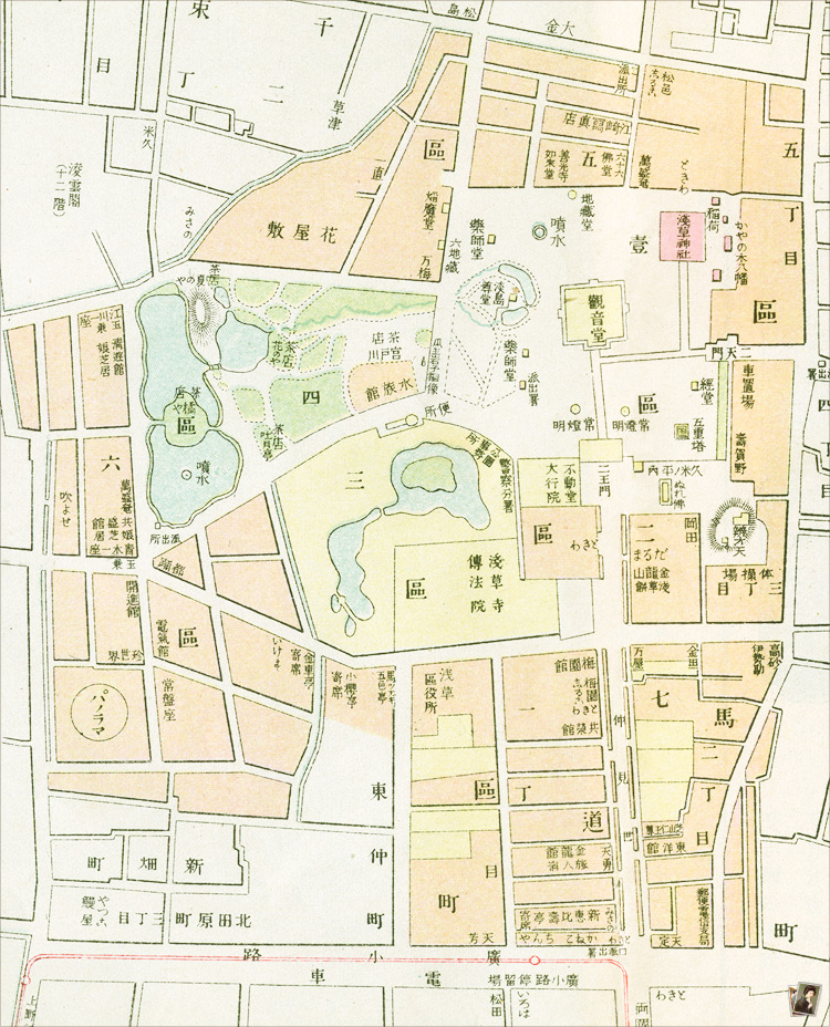 浅草公園之図