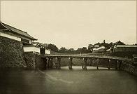 江戸城壕端大手橋