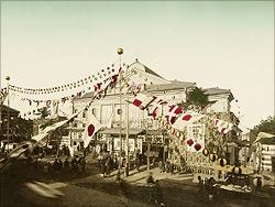 歌舞伎座株式会社開業式の景況