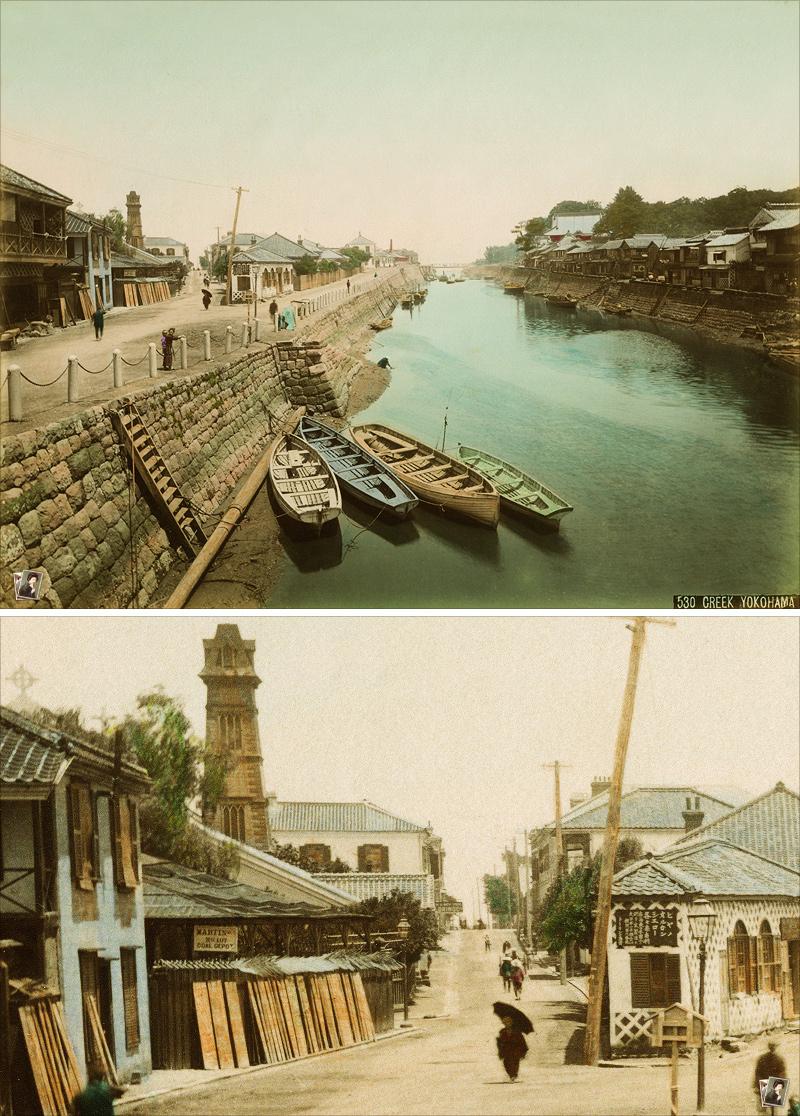 横浜堀川 / 日下部金兵衛