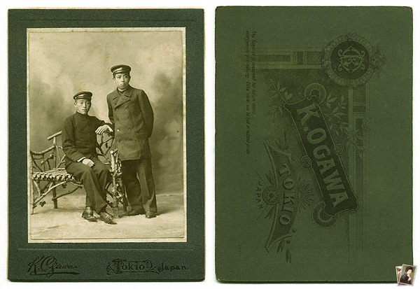 Cabinet Card of Ogawa Studio