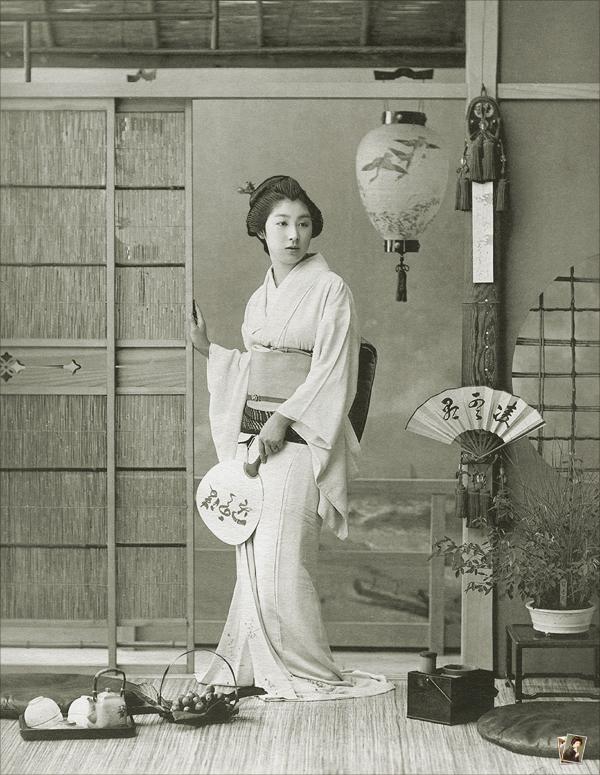 Eriko of Shinbashi | Celebrated Geisya of Tokyo