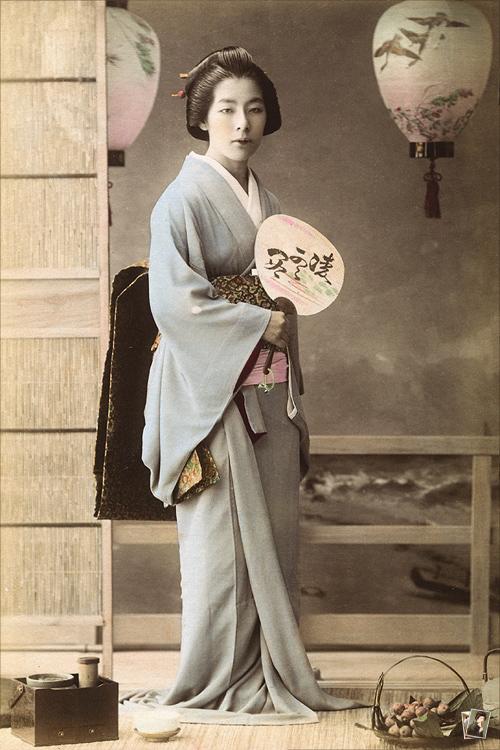 新橋芸妓 新松屋小辰(小たつ)