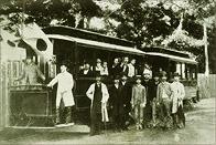 日本初の電車走行